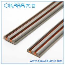 ABS y piezas comunes de cobre de la extrusión fábrica del OEM