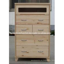 Cabintes / gabinete de cocina de madera armario / armario de pino