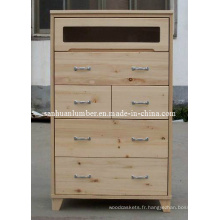 Cabintes / armoires de cuisine en bois meuble / armoire de pin