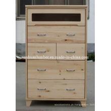 Cabintes / armário de cozinha de madeira armário / armário de pinho