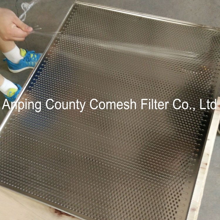 Perforated Mesh Tray