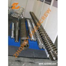 38crmoala parallele Doppel-/Zweibettzimmer-Extruderschnecke und Zylinder