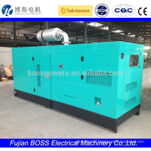 electric start generator with Perkins engine 109KW silent type