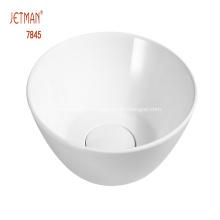 Таз для мытья рук с керамической чашей