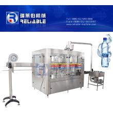 Máquina embotelladora de agua pura automática pequeña botella