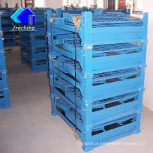 Prateleira de metal de dobramento do equipamento logístico do armazém de Jracking