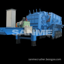 pp series industrial metal crusher machine