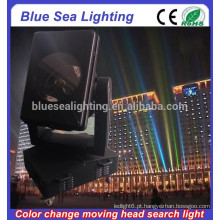 GuangZhou 4/5/7 / 10KW cor cambiável movendo cabeça xenon searchlight