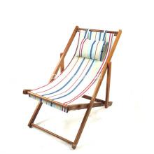 2016 nova cadeira de dobradura de acampamento da madeira contínua no verão, cadeira de dobradura da praia