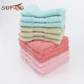 Chili populaire 650gsm grande feuille de serviette de bain / coton personnalisé taille satin