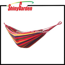 Outdoor Double Cotton Hiking Camping Hammock Ultralight Portable Backpacking Travel Hammock