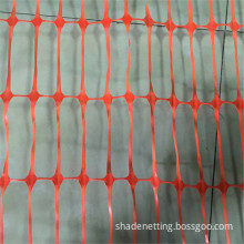 High Strength Orange Warning Plastic Mesh Fence