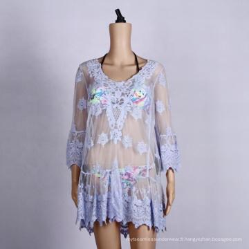 robe de plage poncho plage couvrir grande taille