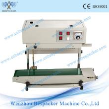 Máquina de sellado térmico de bolsa de plástico continua vertical