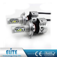 Par Car H4 H13 9004 9007 G8 LED Kit de conversión de bombillas de faros XHP50 6000LM 6500K Super brillante White Beam