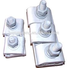 Linha de alimentação de emenda encaixe grampo de cabo braçadeira de cabo de alimentação subestação elétrica linha de montagem de hardware