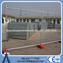 2014 de la venta caliente de la venta del sitio de construcción temporal temporal, panel temporal de la cerca, alambre temporal del alibaba de la cerca del au proveedor