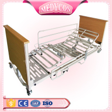 Five functions electric nursing home furiniture bed with automatic packing line