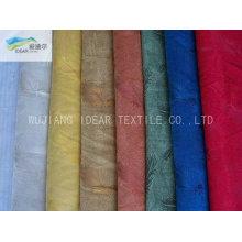 Tecido de Micro camurça impressa dobra para têxteis-lar