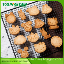 plastic rabbit shaped cookie cutter