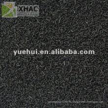 1,5 mm Zylindrische Aktivkohle auf Kohlebasis für Katalysatorträger oder Katalysator ZZ15