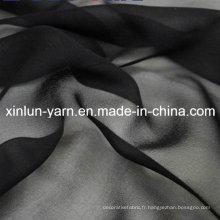 Nouveau tissu imprimé en gros de soie de mousseline de soie de conception pour le vêtement