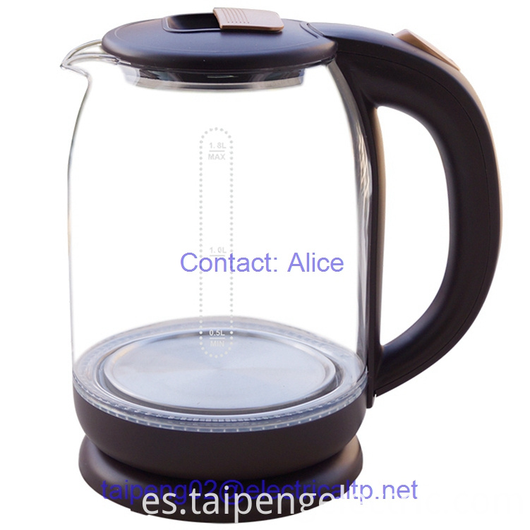 Glass Water Kettle 1.8L