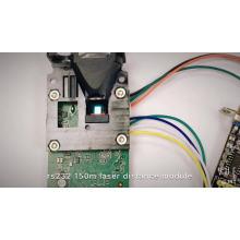 sensor infravermelho do raio laser do sensor da distância do laser de rs232 / rs422 / rs485 USB TTL