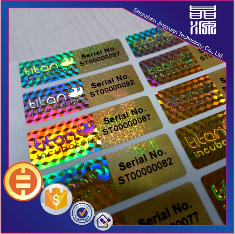 Stiker hologram label asli anti palsu