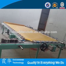 Machine for making textile yellow silk