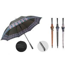 Long Stick Auto Open Wind Resistant Printing Golf Umbrella