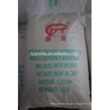 Hochwertiges Calciumphosphat Monobasisches wasserfreies Feinpulver