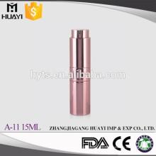 Wholesale Leak Proof 10ml 15ml 20ml Colored Aluminium Twist Up Perfume Atomizer