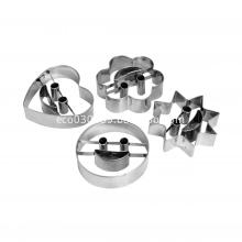 stainless steel cookie mould 4pcs