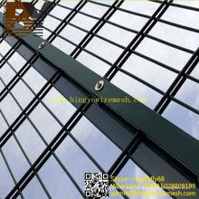 PVC recubierto caliente-sumergido galvanizado doble alambre de esgrima