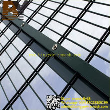 PVC Coated Hot-Dipped Galvanized Double Wire Mesh Fencing
