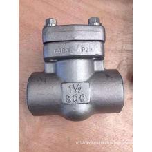 """Ss304 Class800 Válvula de retención roscada de 1 1/2 """""""