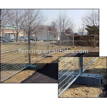 Temporary wire mesh fence(factory)