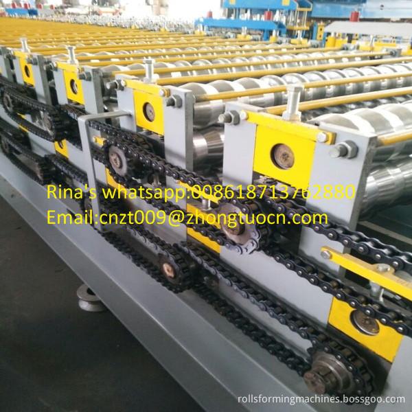 steel sheet roof sheet roll forming machine line 14