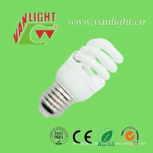 Espiral completa T2 9W E27 CFL lámpara ahorro de energía bombilla