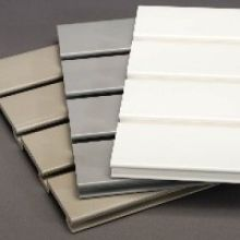 Paneles de Slatwall del PVC de la espuma