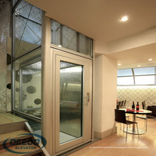 Elevador pequeño residencial casero de cristal de la casa de la elevación personal pequeño elevador