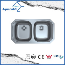 Under Counter Stainless Steel Moduled Kitchen Sink (ACS 3218M)