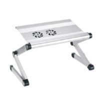 "Laptop Desk Alu Panel Foldable Height Adjustment Upto 17"" (T2A)"