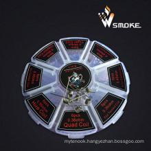 8 Kinds of Premade Wire in 1 Box Demon Killer Wire E Cigarette Heating Wire 8 in 1coil