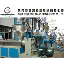 Residuos HDPE LDPE DEKE Reciclaje de la máquina DKSJ-140A / 125