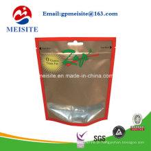 Pacote de alta qualidade Zipper Plastic The Sugar Bag