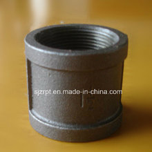 """1"""" Black Banded Socket Malleable Iron Pipe Fitting"""