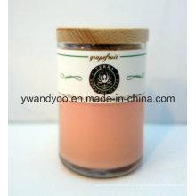 Vela de regalo perfumada de cera de soja