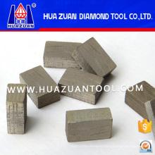 Quanzhou Huazuan Manufacture 2000mm Diamond Segment for Cutting Granite